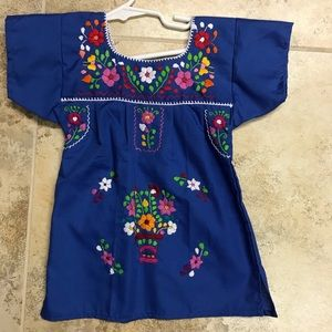 8e64e7925f Mexican dresses for baby girls size 1T or 12 Month